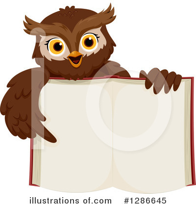 Owl Clipart #1286645 by BNP Design Studio
