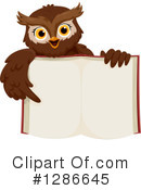 Royalty-Free (RF) Owl Clipart Illustration #1286645