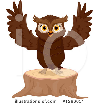 Owl Clipart #1286651 by BNP Design Studio