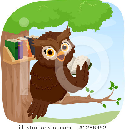 Owl Clipart #1286652 by BNP Design Studio