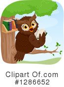 Royalty-Free (RF) Owl Clipart Illustration #1286652
