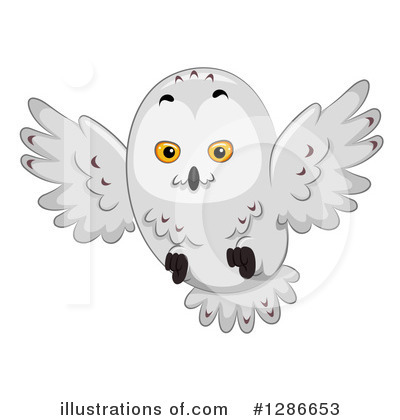 Royalty-Free (RF) Owl Clipart Illustration by BNP Design Studio - Stock Sample #1286653
