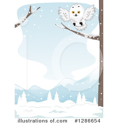 Owl Clipart #1286654 by BNP Design Studio