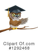 Owl Clipart #1292468 by AtStockIllustration