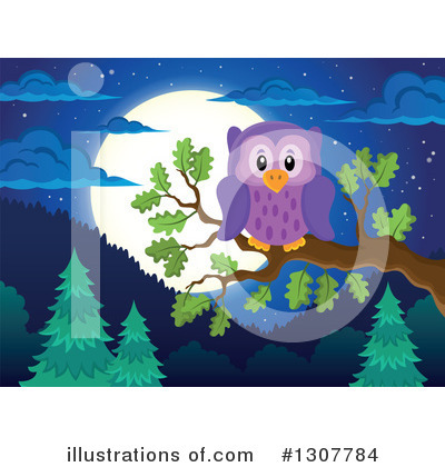 Forest Animals Clipart #1307784 by visekart