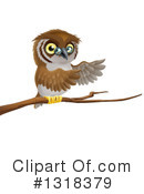 Owl Clipart #1318379 by AtStockIllustration