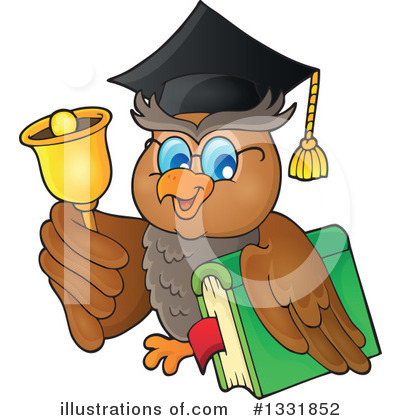 Professor Owl Clipart #1331852 by visekart