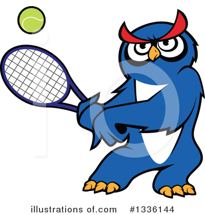 Tennis Clipart #1336144 by Vector Tradition SM