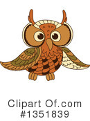 Owl Clipart #1351839 by Vector Tradition SM