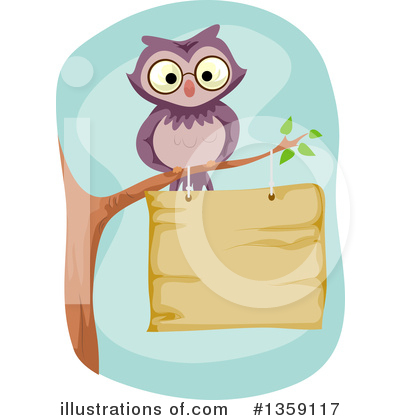 Owl Clipart #1359117 by BNP Design Studio