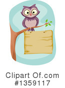 Royalty-Free (RF) Owl Clipart Illustration #1359117