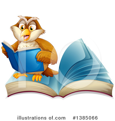 Reading Clipart #1385066 by Graphics RF