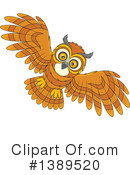 Owl Clipart #1389520 by Alex Bannykh