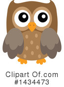 Royalty-Free (RF) Owl Clipart Illustration #1434473