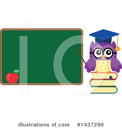Professor Owl Clipart #1437290 by visekart
