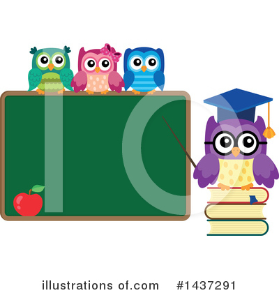 Professor Owl Clipart #1437291 by visekart