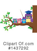 Royalty-Free (RF) Owl Clipart Illustration #1437292