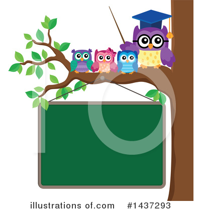 Professor Owl Clipart #1437293 by visekart
