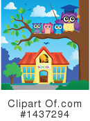 Owl Clipart #1437294 by visekart