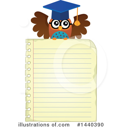 Professor Owl Clipart #1440390 by visekart