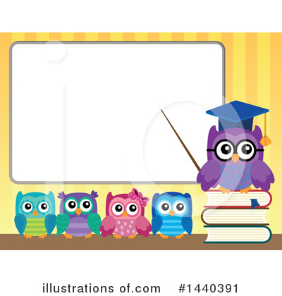 Professor Owl Clipart #1440391 by visekart