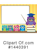 Owl Clipart #1440391 by visekart
