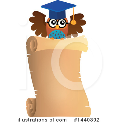 Professor Owl Clipart #1440392 by visekart