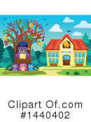 Royalty-Free (RF) Owl Clipart Illustration #1440402