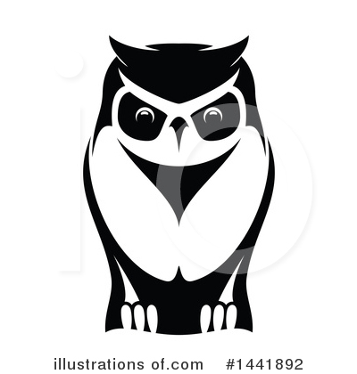 Owl Clipart #1441892 by Vector Tradition SM