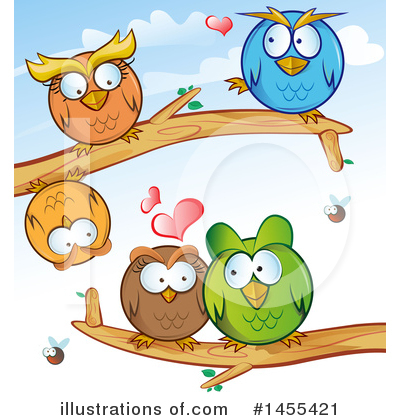 Owl Clipart #1455421 by Domenico Condello