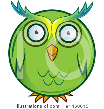 Owl Clipart #1460015 by Domenico Condello
