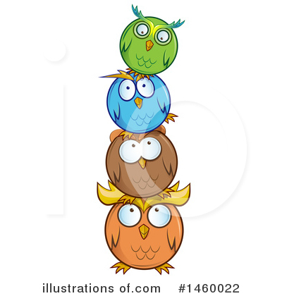 Owl Clipart #1460022 by Domenico Condello