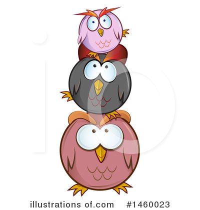 Owl Clipart #1460023 by Domenico Condello
