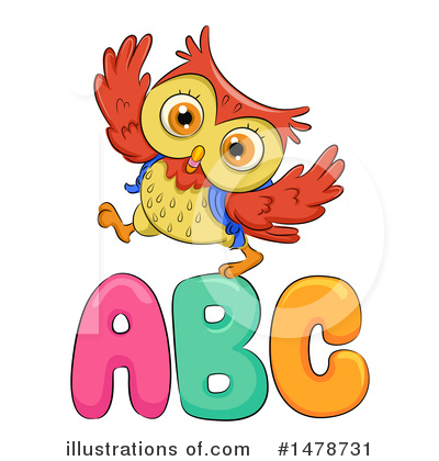 Royalty-Free (RF) Owl Clipart Illustration by BNP Design Studio - Stock Sample #1478731