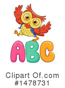 Royalty-Free (RF) Owl Clipart Illustration #1478731