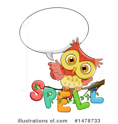 Owl Clipart #1478733 by BNP Design Studio