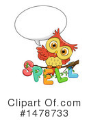 Royalty-Free (RF) Owl Clipart Illustration #1478733