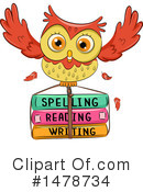 Royalty-Free (RF) Owl Clipart Illustration #1478734