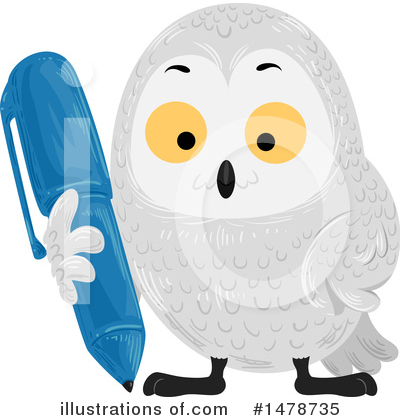 Owl Clipart #1478735 by BNP Design Studio