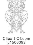 Royalty-Free (RF) Owl Clipart Illustration #1506093