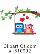 Royalty-Free (RF) Owl Clipart Illustration #1510992