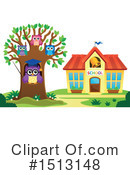 Royalty-Free (RF) Owl Clipart Illustration #1513148