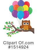 Owl Clipart #1514924 by visekart