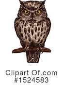 Owl Clipart #1524583 by Vector Tradition SM