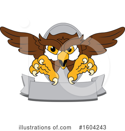 Royalty-Free (RF) Owl Clipart Illustration by Toons4Biz - Stock Sample #1604243