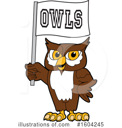 Royalty-Free (RF) Owl Clipart Illustration by Toons4Biz - Stock Sample #1604245
