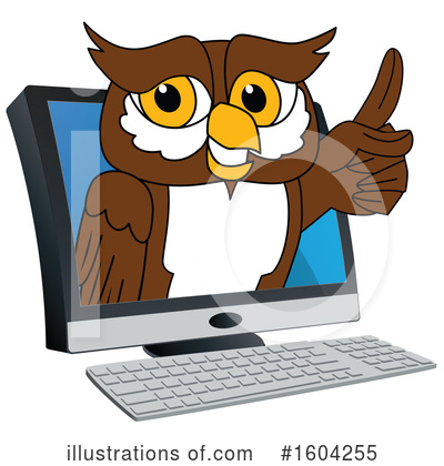 Owl Clipart #1604255 by Toons4Biz