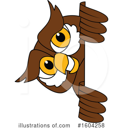Royalty-Free (RF) Owl Clipart Illustration by Toons4Biz - Stock Sample #1604258