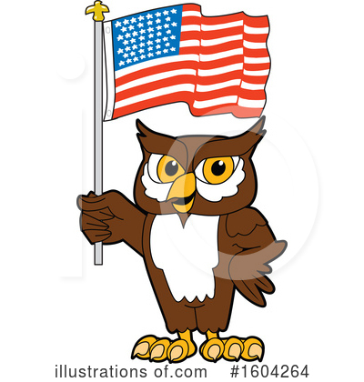 Royalty-Free (RF) Owl Clipart Illustration by Toons4Biz - Stock Sample #1604264