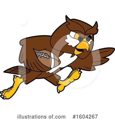 Royalty-Free (RF) Owl Clipart Illustration by Toons4Biz - Stock Sample #1604267